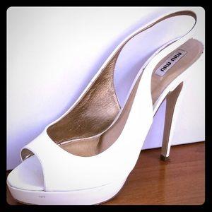 Miu Miu high heels shoes